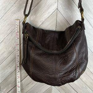 The sac genuine leather crossbody bag
